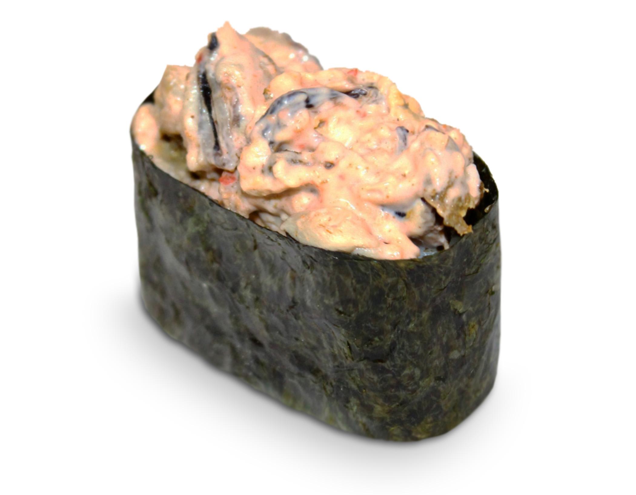 Суши спайси с мидиями